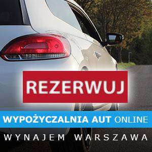 Wynajem samochodów osobowych Warszawa